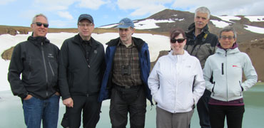A few members of the CBMP FSG in Iceland, 2013. Photo: CAFF