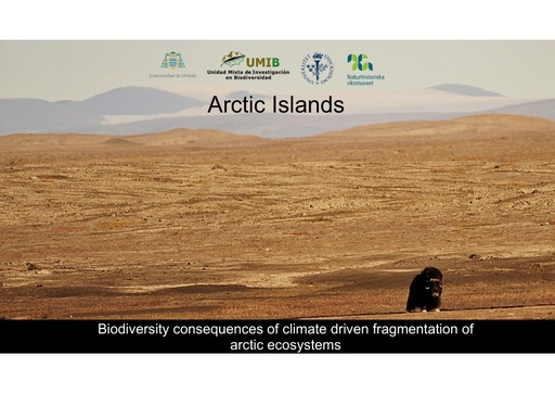 Arctic islands –biodiversity consequences of climate driven fragmentation of Arctic ecosystems: Fredrik Dalerum