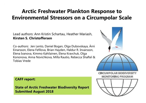 Arctic Freshwater Plankton Response to Environmental Stressors on a Circumpolar Scale
