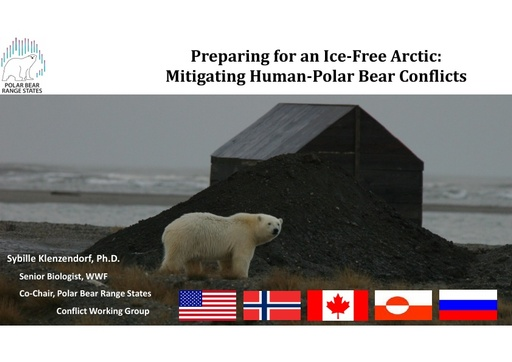 Arctic governments working together: pan-Arctic workplan for HPBC reduction: Sybille Klenzendorf