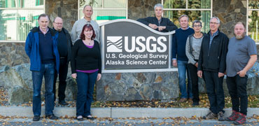 Members of the CBMP Freshwater Steering Group at an annual meeting held at the USGS in Alaska. Photo: CAFF