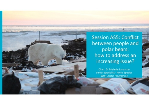 Human-polar bear conflict: recap from CAFF ABC 2014: Melanie Lancaster