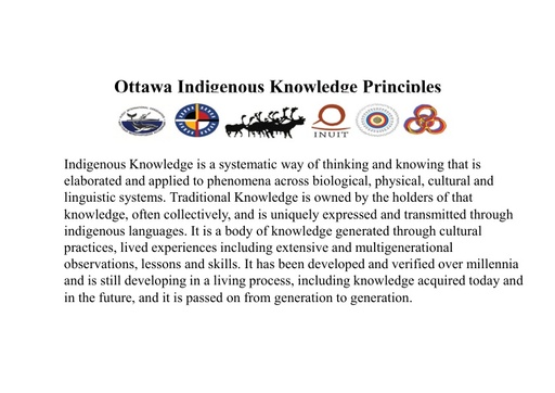 Traditional Knowledge and science under a co-production of knowledge: Carolina Behe