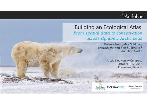 Building an ecological atlas: from spatial data to conservation across dynamic Arctic seas: Benjamin Sullender