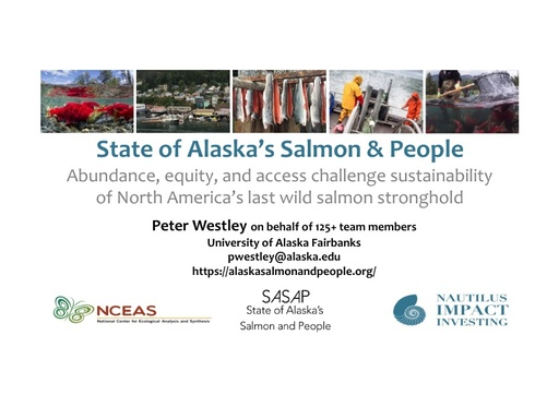 Salmon and salmon-dependent people in Alaska: Highlights of an interdisciplinary research initiative: Peter Westley