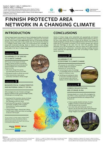 Introducing the project: Finnish protected area network in a changing climate (SUMI)