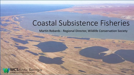 Coastal subsistence fisheries: Martin Robards