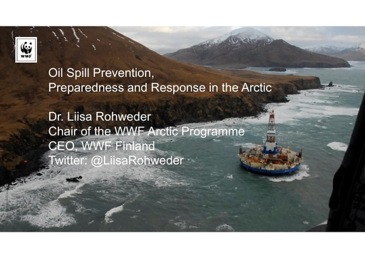 Oil spill preparedness, response and capacity in the Arctic: an introduction: Liisa Rohweder
