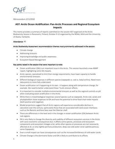 Memo AS7 SessionReport