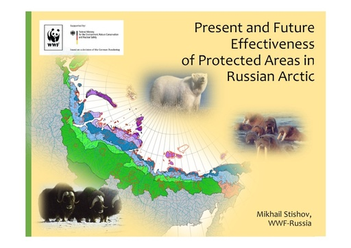 Present and future effectiveness of Arctic Protected Ares in Russia: Mikhail Stishov